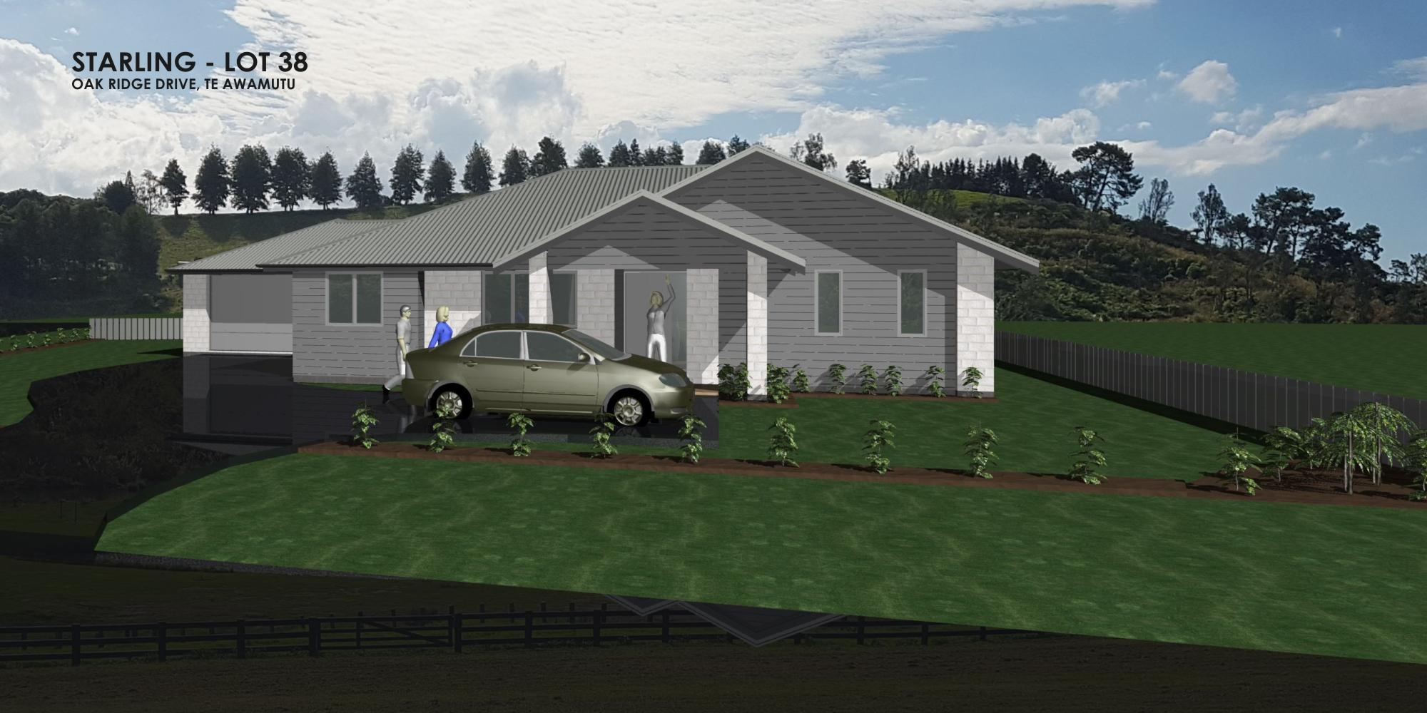 Starling Lot 38, Oak Ridge Drive, Te Awamutu